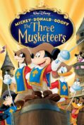 Mickey Donald Goofy The Three Musketeers